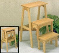 Three Step Fold Up Stool Wood Plan