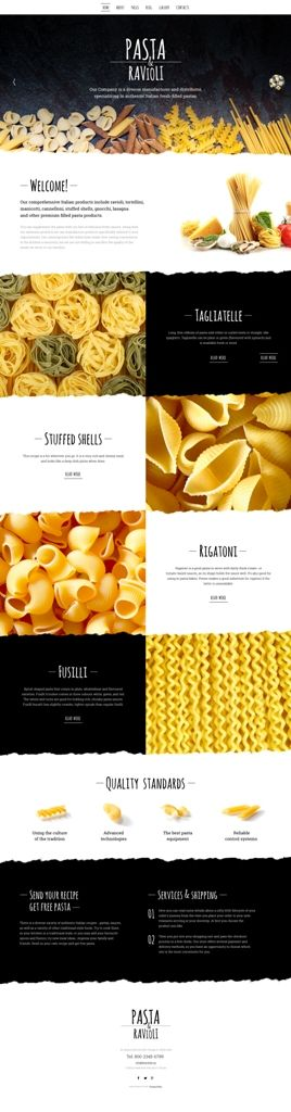 Coming soon: Pasta and Ravioli Company joomla 3 Template. Check out its release…