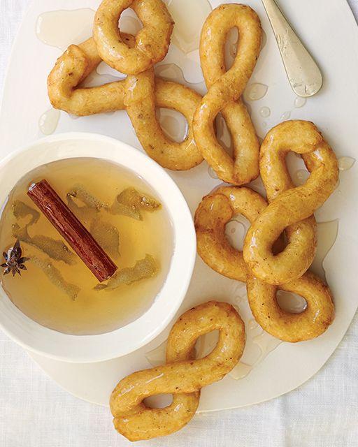 Buñuelos de Anís con Almíbar - Anise Fritters with Syrup - #Cuba #CubanFood #sweetpaul
