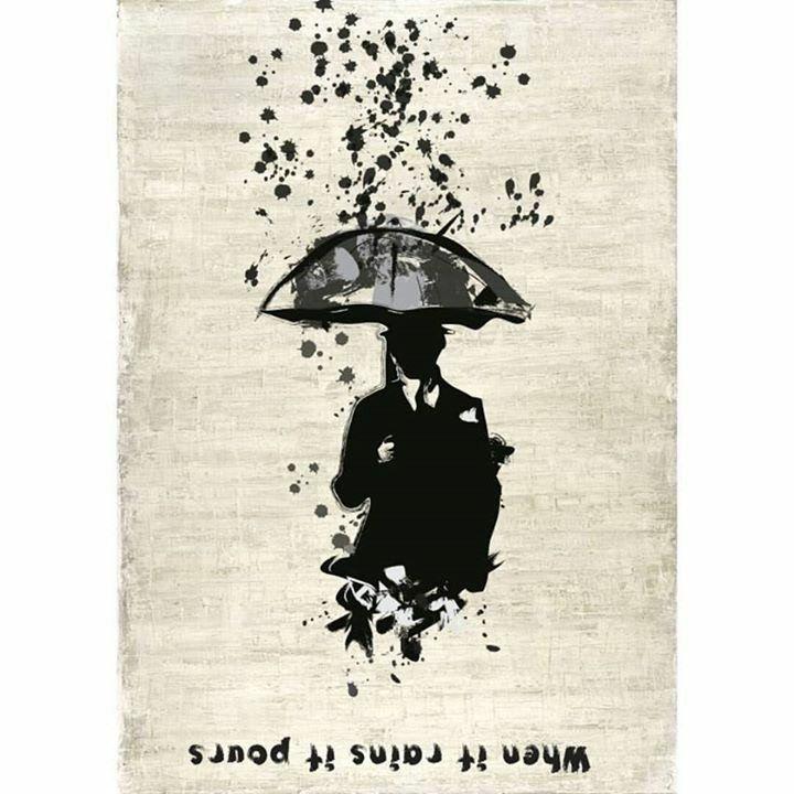 'When it rains it pours'