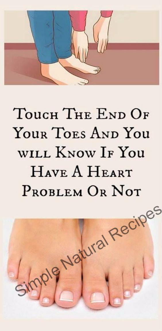Touch The End Of Your Toes And You Will Know If You Have A Heart Problem Or Not