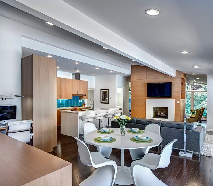 triple seated home office area. triple seated home office area simply open dining with four white round table design wooden floor r