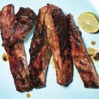 Best-Ever Barbecued Ribs - Bon Appétit. Make ahead and grill when ...