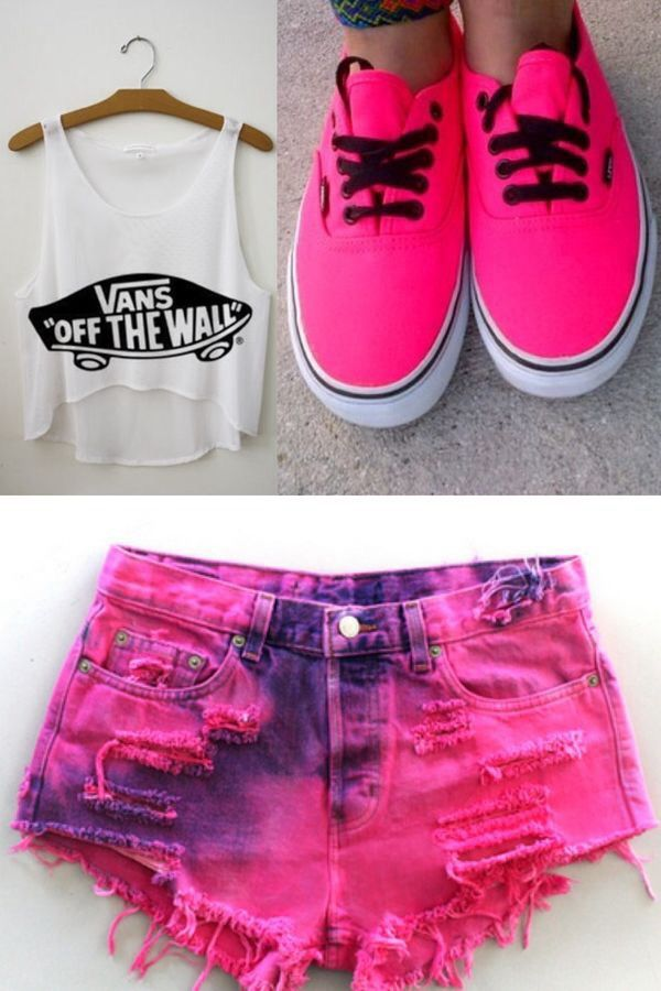 Cute vans clothes for girls:):)