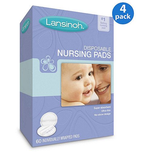 $27 Lansinoh - Value Bundle - Disposable Nursing Pads, 240 count, 4-Pack