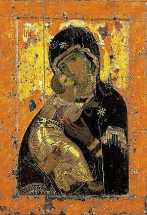 Icon of the Vladimir Mother of God