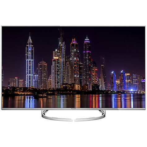 "Buy Panasonic Viera 50DX750B LED HDR 4K Ultra HD 3D Smart TV, 50"" With Freeview Play/freetime & Art Of Interior Switch Design Online at johnlewis.com"