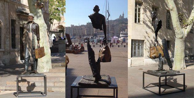 Bruno Catalano sculptures