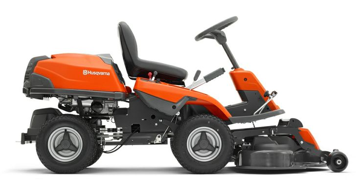 Electric riding lawn mower