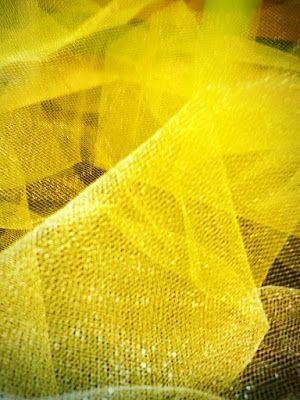 Diary of Rainbows: Lemonade, Limeade yellow, tulle