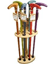 Shell Walking Cane Stand - Pine Wood