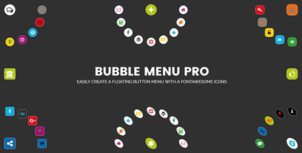 awesome Bubble Menu Pro (Menus)