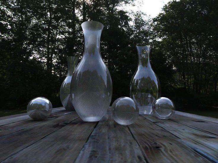 Masih Belajar - Glass Render