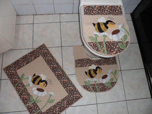 Kit Banheiro Em Tecido : Molde jogo de banheiro em tecido patchwork recent photos