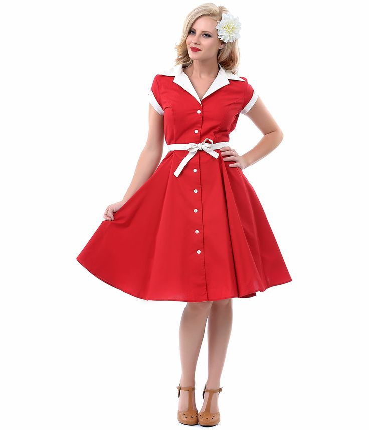Cabernet 1950s style diner swing dress unique vintage for What is retro style