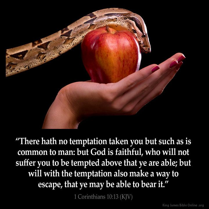 1 Corinthians 10:13 There hath no temptation taken you but such as is common to man: but God is faithful who will not suffer you to be tempted above that ye are able; but will with the temptation also make a way to escape that ye may be able to bear it. 1 Corinthians 10:13 (KJV) from King James Version Bible (KJV Bible) http://ift.tt/1NqrxTk Filed under: Bible Verse Pic Tagged: 1 Corinthians 10:13 Bible Bible Verse Bible Verse Image Bible Verse Pic Bible Verse Picture Daily Bible Verse…