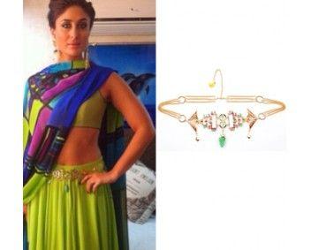 Kareena Kapoor in Manish Arora for Amrapali #perniaspopupshop #shopnow #celebritycloset #designer #clothing #accessories