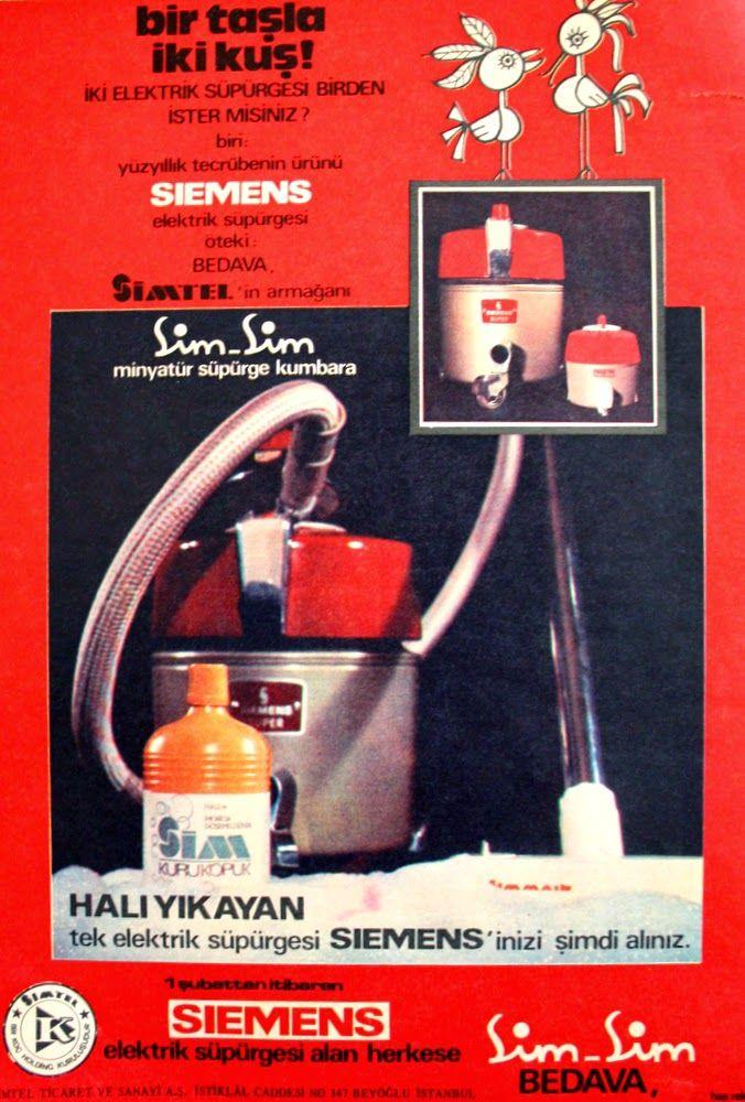 OĞUZ TOPOĞLU : siemens elektrik süpürgesi 1975 nostaljik eski rek...