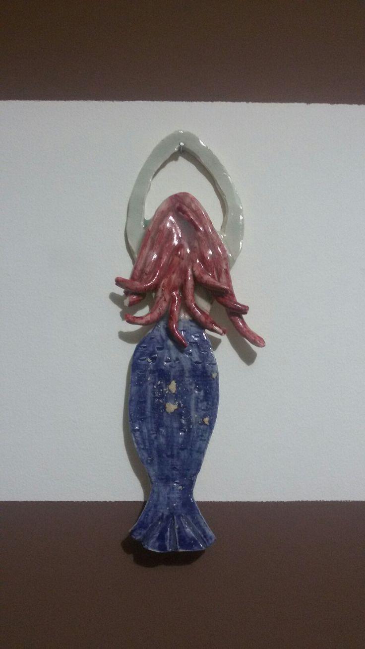 #ceramic #mermaid