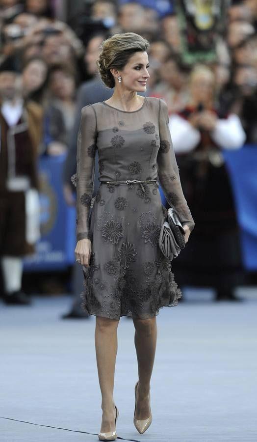 Los estilismos de doña Letizia en los Premios Príncipe de Asturias