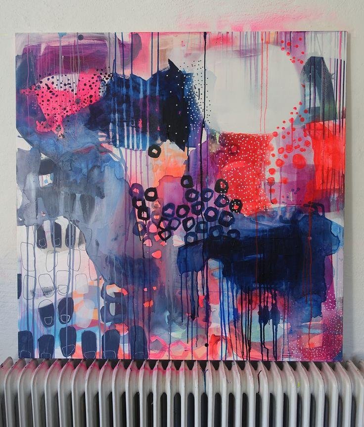 Painting by Mette Lindberg www.mettesmaleri.dk
