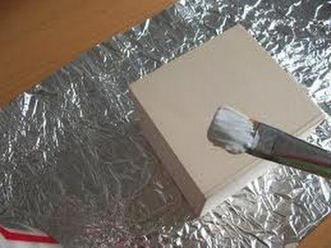 Manualidades con papel aluminio 3 - YouTube