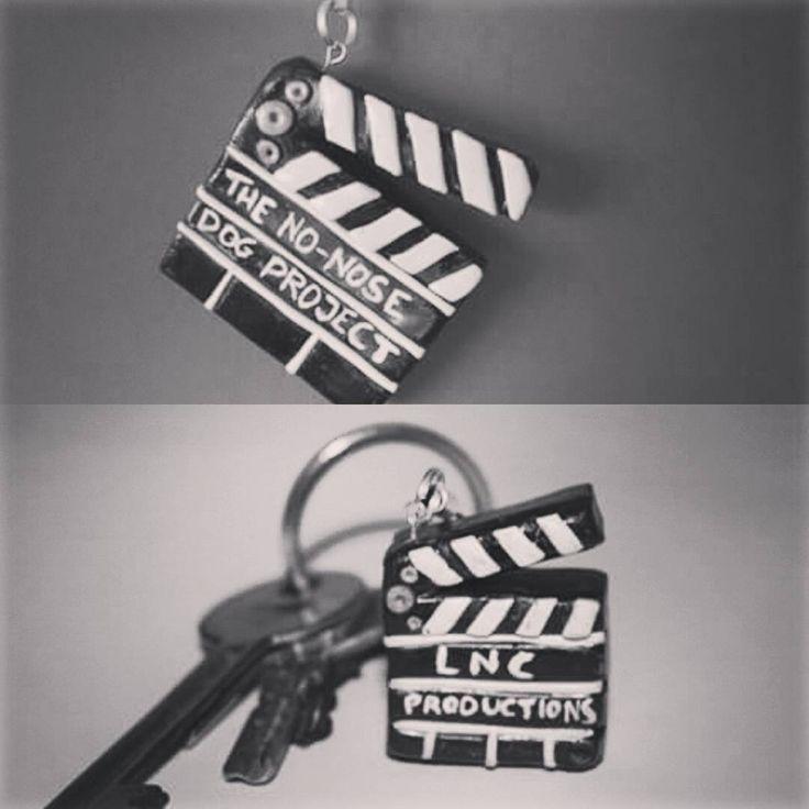 Clauer claqueta #fimo #fimoclay #fimoart #fimocreations #cinema