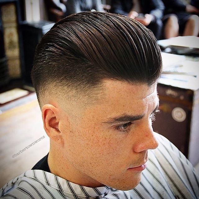 RG:  @barbertownworcs  Amazing pomp and skinfade with strong contrasts throughout! [ REPOST BY: @flatmax ] #BARBERINSPIRATIONS2017 #Repost #Style #Fashion #MensHair #MensStyle #MensLook #MensFashion #MensGrooming #HairStyles #HairCuts #HairArt #PhotoArt #LovePhoto #LovePhotography #Model #Modelling #Barber #Barbering #BarberShop #BarberLife #BarberLove #Beard #Beards #Tattoo #Tattoos #TattooArt #InternationalBarbering™ @barberinspirations