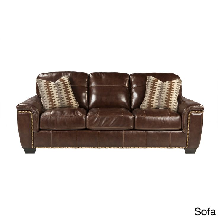 17 Best Ideas About Ashley Leather Sofa On Pinterest