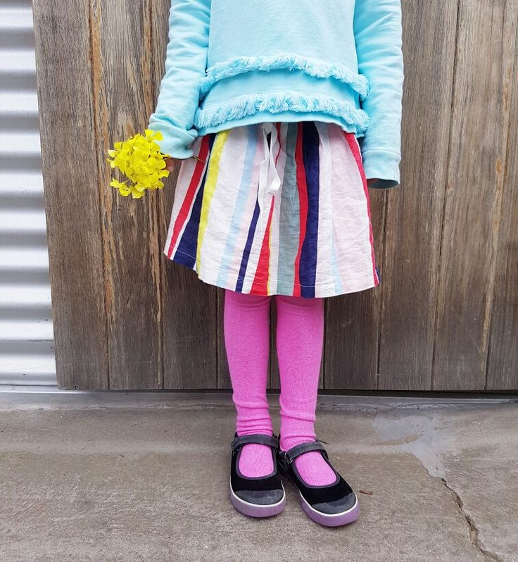 Candy stripes and pink legs x