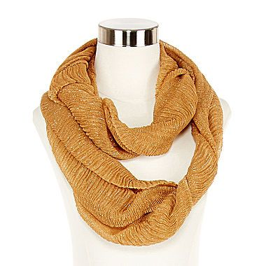 jcp | Ruched Infinity Scarf