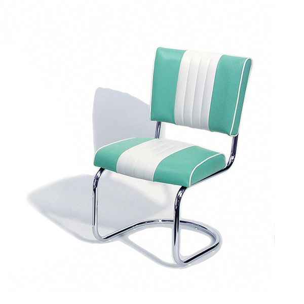 Cadillac Diner Chair Turquoise | American Retro Furniture Dining Chairs    Buy At Drinkstuff