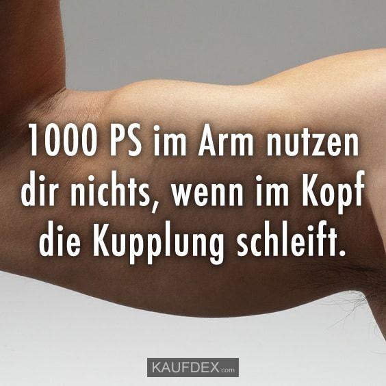 1000 PS im Arm nutzen dir nichts, wenn im Kopf die Kupplung schleift.