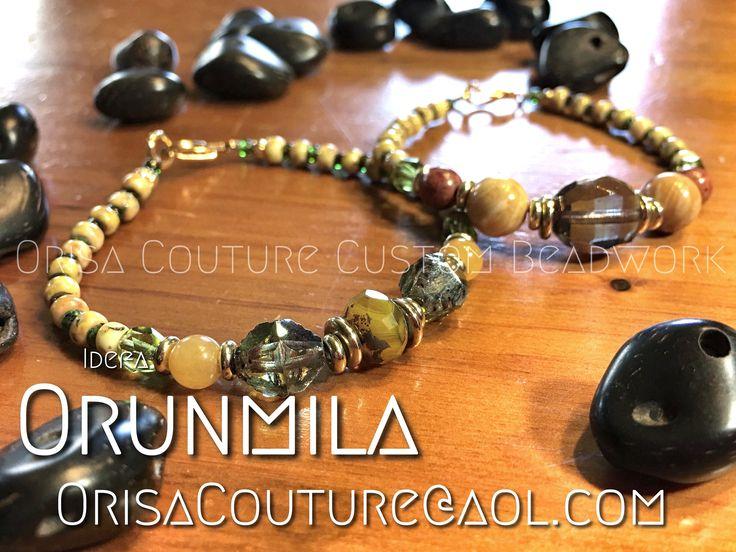 Idefa Orunmila For inquires, please send an email to OrisaCouture@aol.com #idefa #orunmila #orunla #orula #awofaka #ikofa #oluo #babalawo #awo #ifa #orisa #orisha #lukumi #santeria #yoruba #orisacouture