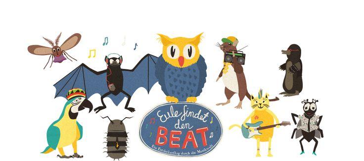 Eule findet den Beat - ein Entdeckerflug durch die Musikwelt, Musikhörspiel für Kinder!