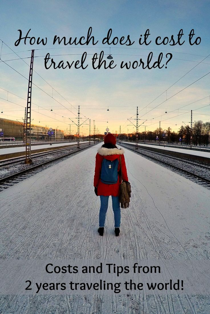 Have you ever wondered how much does it cost to travel the world? And how can you do it? We share our travel costs of 2 years traveling the world. Plus tips to organise the perfect travel budget and trip! via @loveandroad