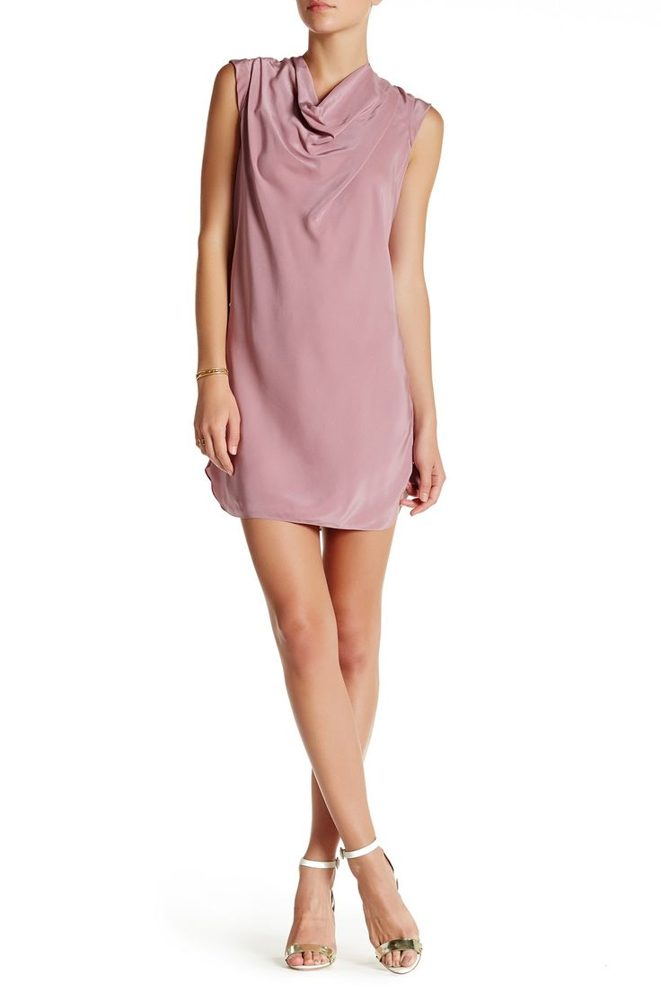 Cowl Neck Cap Sleeve Dress by Haute Hippie on @nordstrom_rack