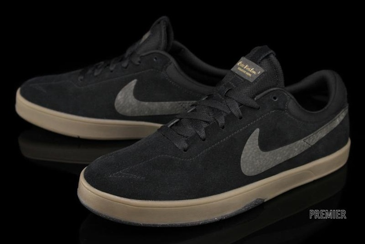 "Nike SB Eric Koston 1 ""Black/Gum"""