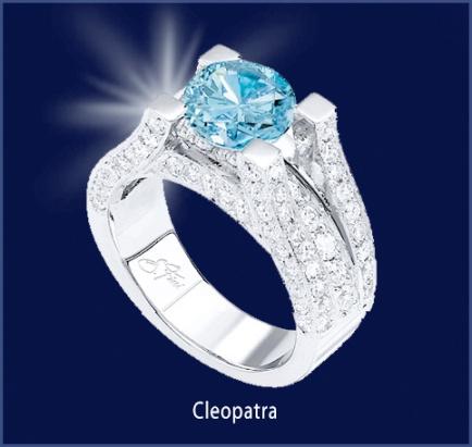 Sophia Fiori Blue Diamond 96