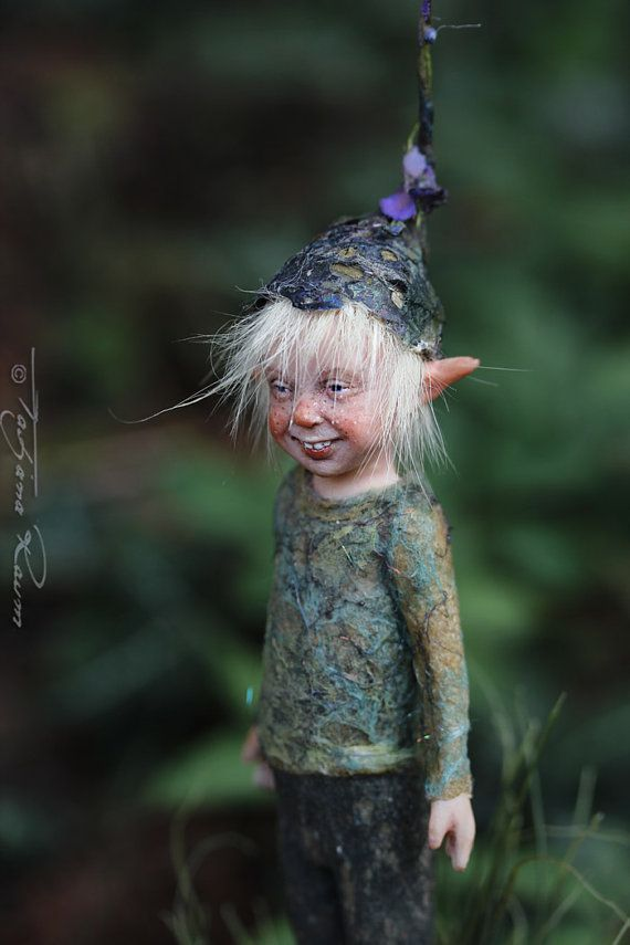 Little pixie Matze OOAK made by Tatjana Raum by chopoli on Etsy