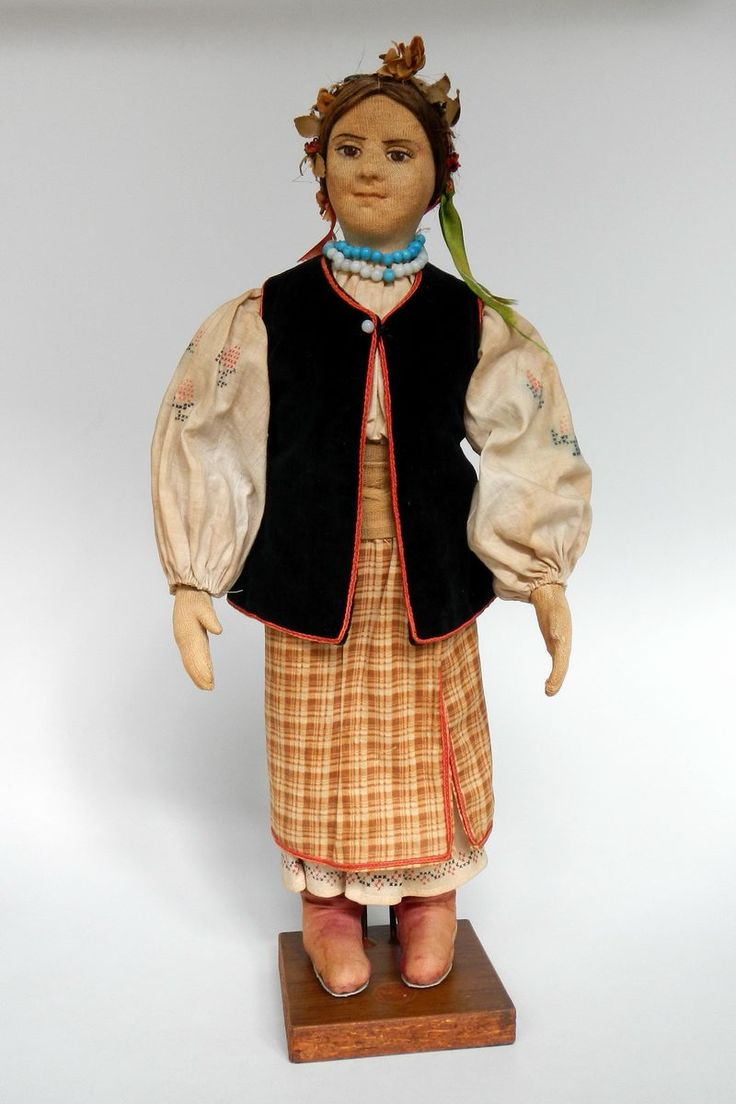 Ukraine | Doll made in the USSR dressed in traditional festive costume from Ukraine