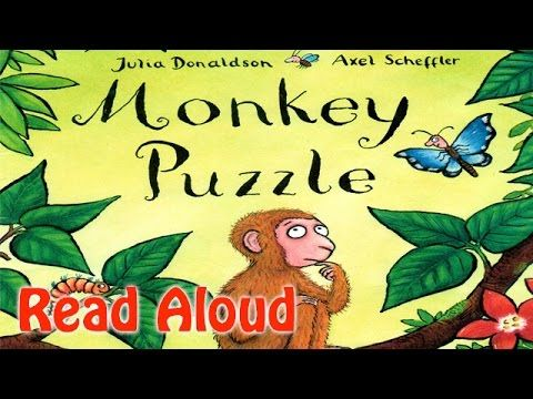Monkey Puzzle Read Aloud - Where's My Mom - Julia Donaldson - YouTube