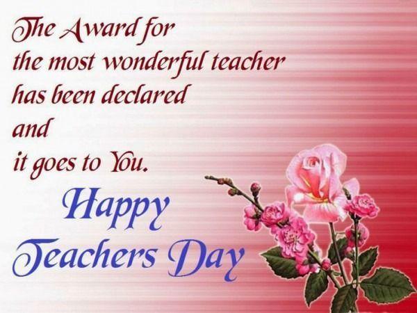 Teachers Day Invitation Card Teachersdaycard Happy Teachers Day