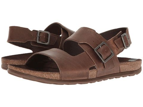 Merrell Downtown Backstrap Buckle (Dark Earth) Men's Sandals