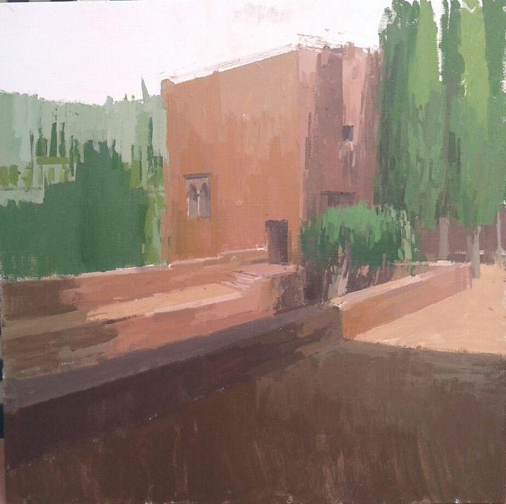 Obra de Guillermo I. Becario 2013 (primer turno).