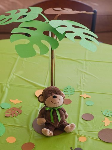 monkey baby shower @ request of Kristy. (The wall is slowly crumbling and I'm corrupting all my friends!!!)