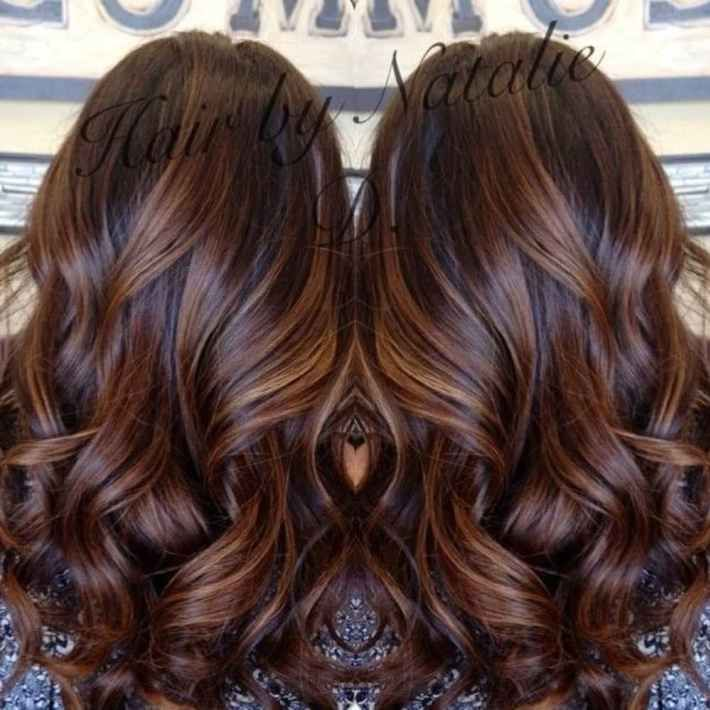The 25 best short dark brown hair with caramel highlights ideas 90 balayage hair color ideas with blonde brown and caramel highlights pmusecretfo Gallery