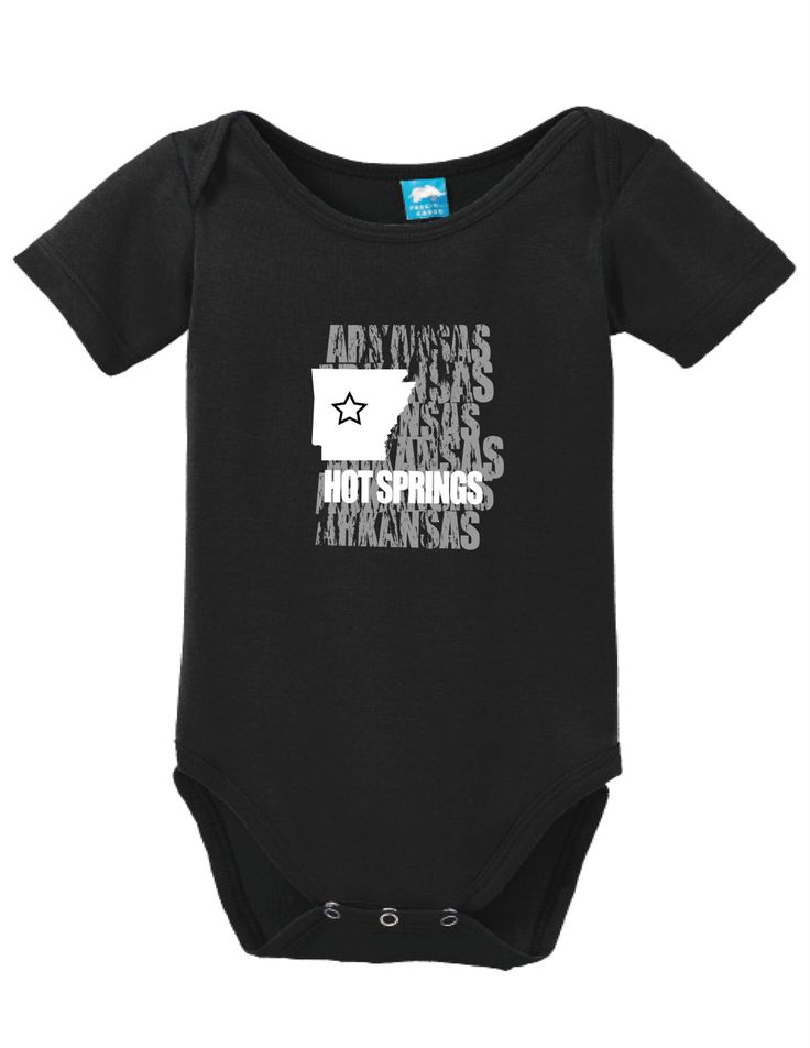 Hotsprings Arkansas Onesie