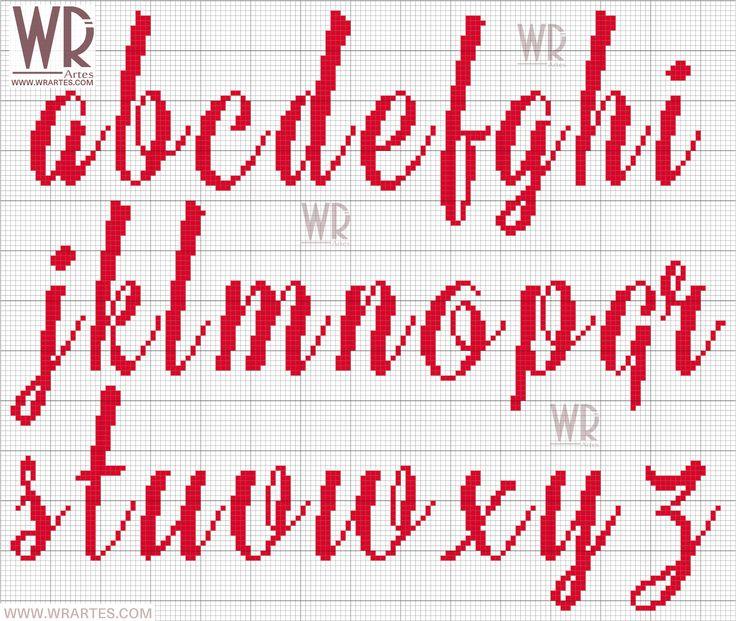 alfabeto+com+Letras+SOFISTICADAS+minusculas+para+ponto+cruz+wagner+reis.png (1600×1350)