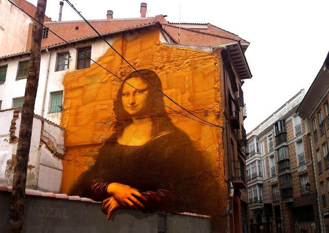 Cada día una foto de Palencia, realizada por ABBÉ NOZAL: Medianera de La Gioconda